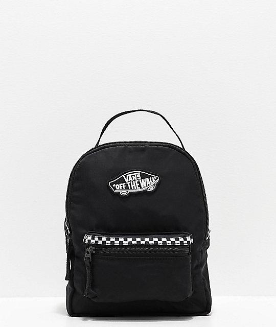 mochila vans hombre negra