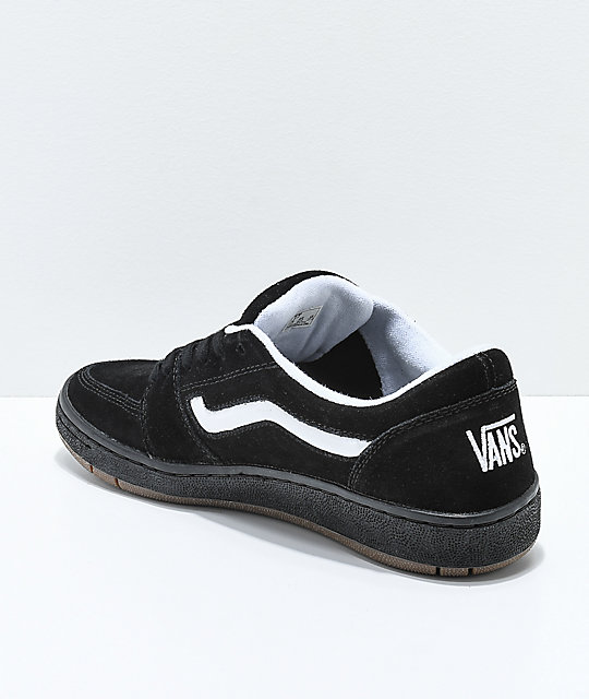 Vans Fairlane Pro 94 Black, White & Gum Skate Shoes