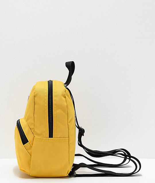 e4c5fd98471 Vans Got This Yellow Mini Backpack   Zumiez