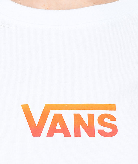 Vans Graident Box camiseta blanca