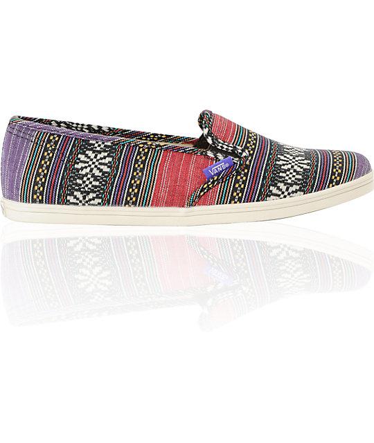 cd1483667d7782 ... Vans Guate Stripe Slip-On Lo Pro Shoes