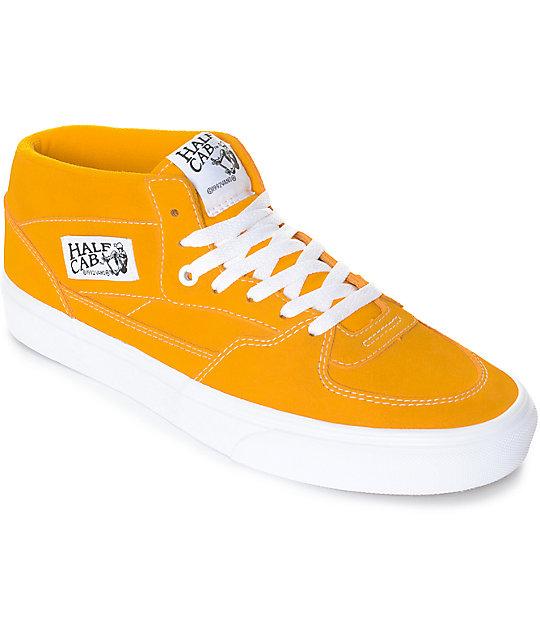 Half Citrusamp; Vans Shoes Cab Skate White F3u1lcJTK