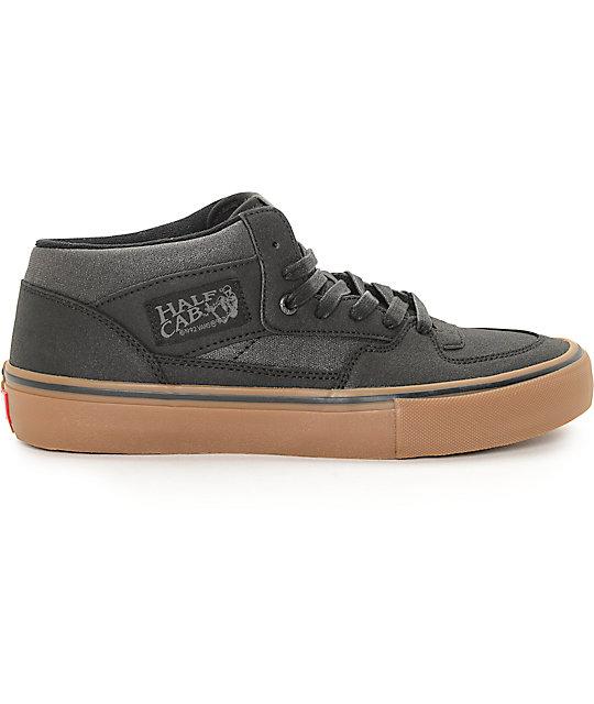 06ab749bb4db43 ... Vans Half Cab Pro Xtuff Black   Gum Skate Shoes