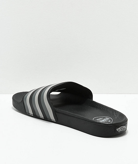 Vans Hawaiian Black Slide Sandals