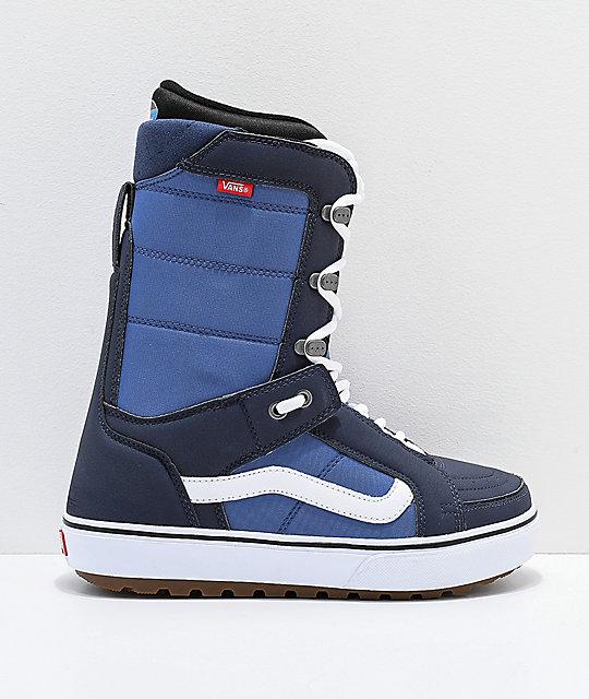 8d0c4ebbc2 ... Vans Hi-Standard OG Blue   White Snowboard Boots 2019 ...