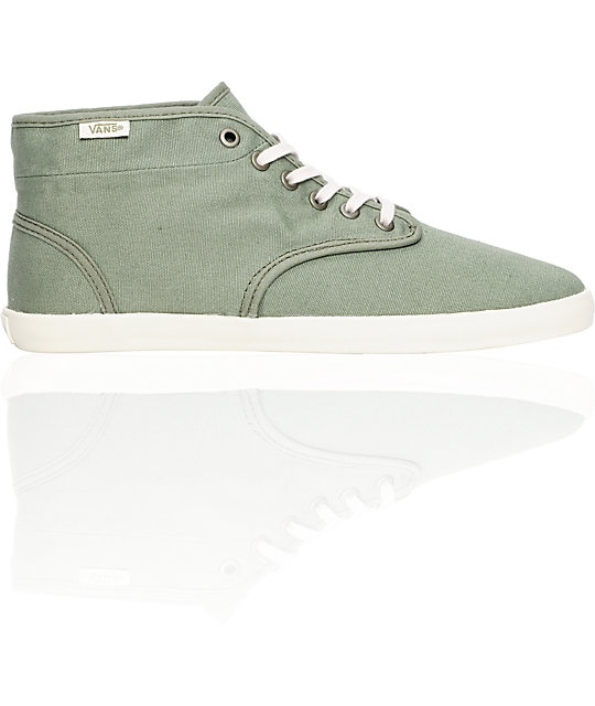 Vans Houston Arabesque Green Shoes