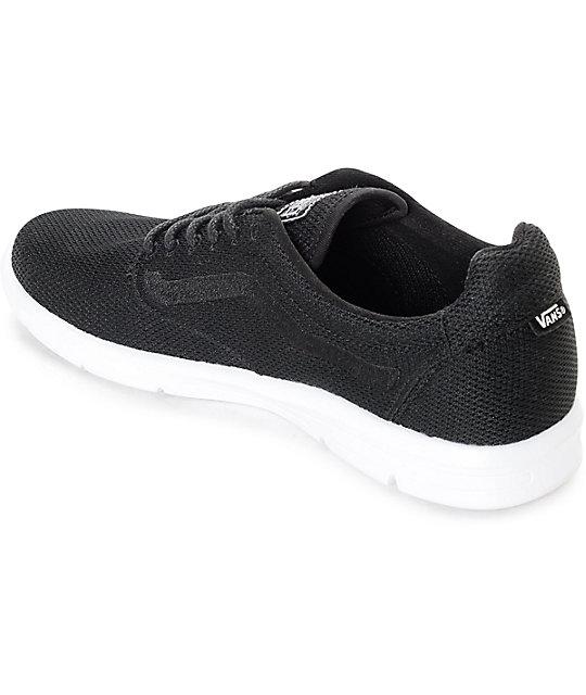 2197993b4b ... Vans Iso 1.5 Mesh Black Shoes ...