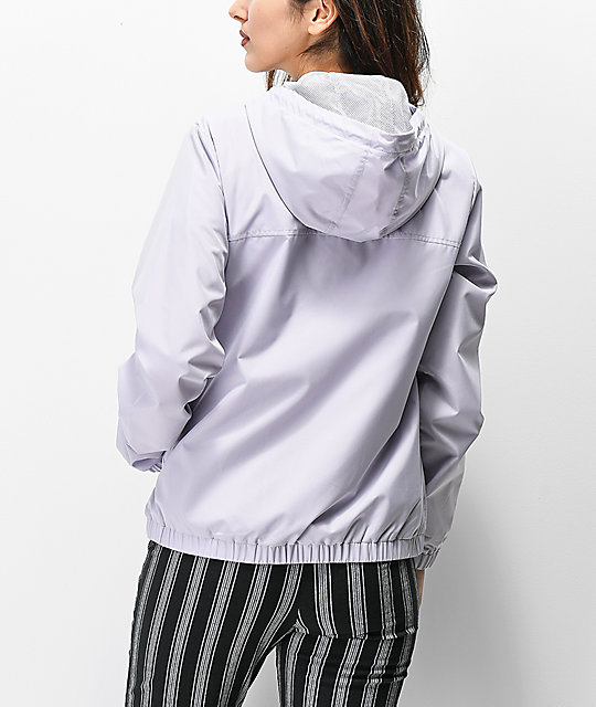 Vans Kastle Evening Haze Lilac Windbreaker Jacket