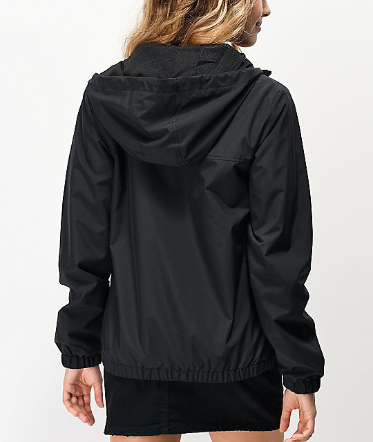 Vans Kastle III Black Windbreaker Jacket