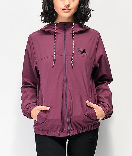 Vans Kastle Iii Prune Windbreaker Jacket by Vans
