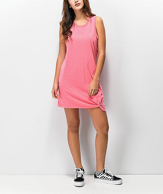 c52ce6399e Vans Knotty Strawberry Pink Dress