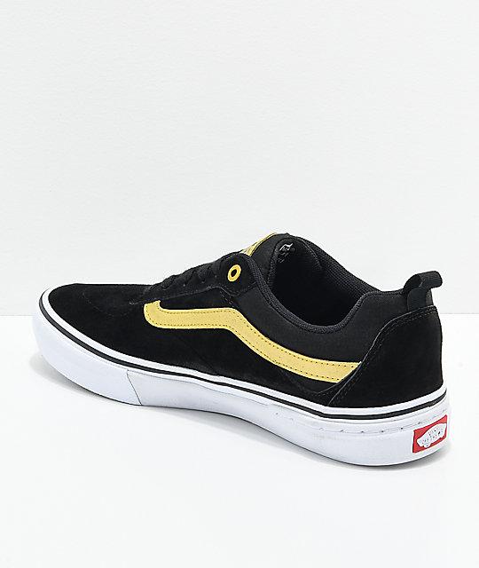 en Walker metálico Pro Vans zapatos de skate Kyle oro y negro 1Yqfw