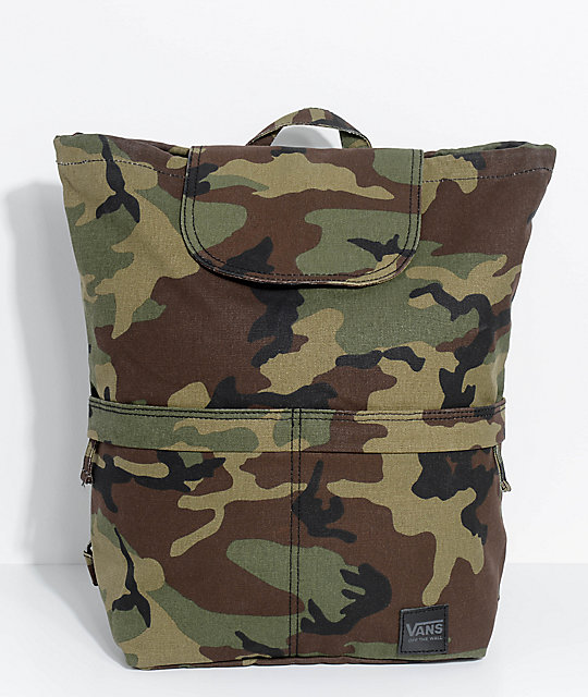 Vans Lakeside Camo 15L Backpack  9be5eacbb8