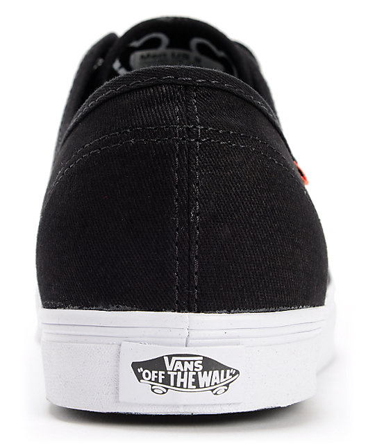 Vans Madero Black Twill Skate Shoes