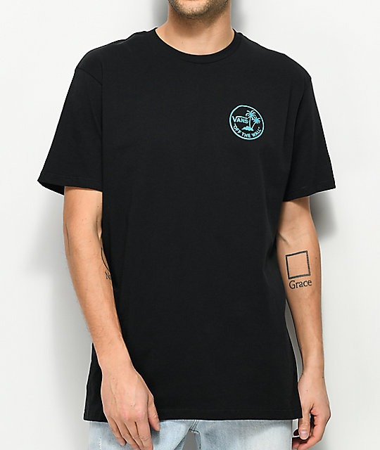 d4ee97d0c4 Vans Mini Dual Palm Black T-Shirt