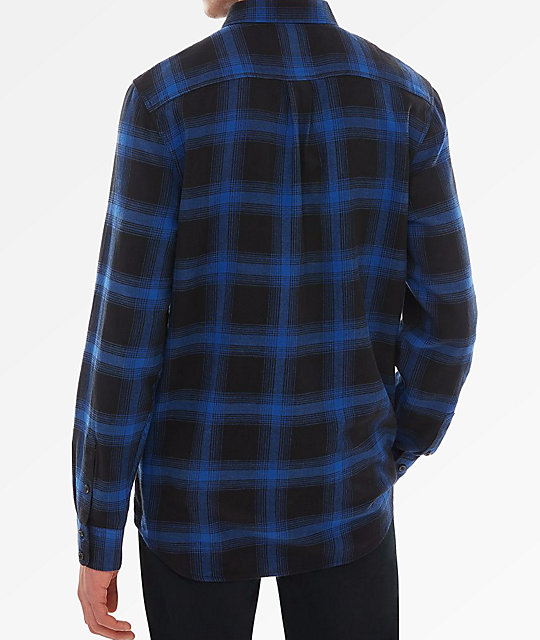 Vans Monterei III Blue & Black Flannel Shirt