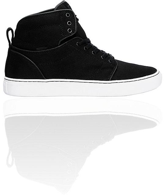 9a9d9d0af0 Vans OTW Alomar Black Canvas Skate Shoes