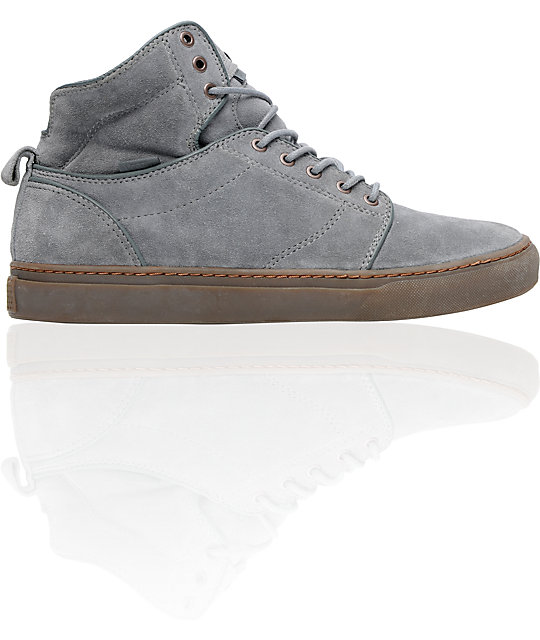 374468dbe3 Vans OTW Alomar Grey Suede Skate Shoes
