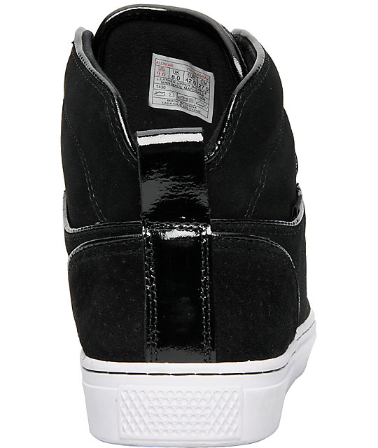 df9f15b5e8 ... Vans OTW Alomar White   Black Suede Skate Shoes ...