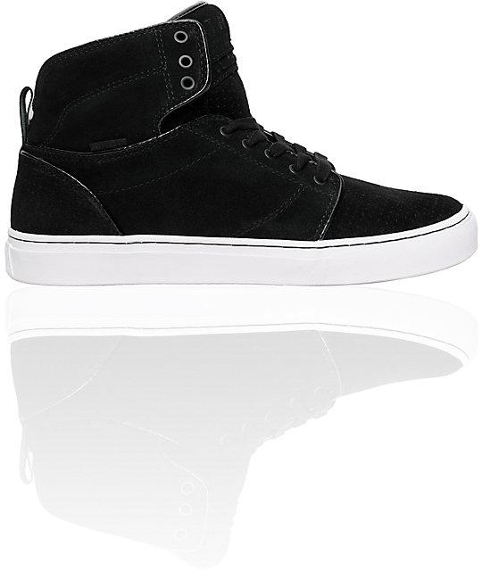 2c07455ee7 Vans OTW Alomar White   Black Suede Skate Shoes