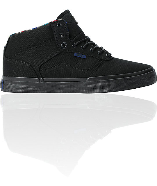 Vans OTW Bedford Black Canvas Skate Shoes