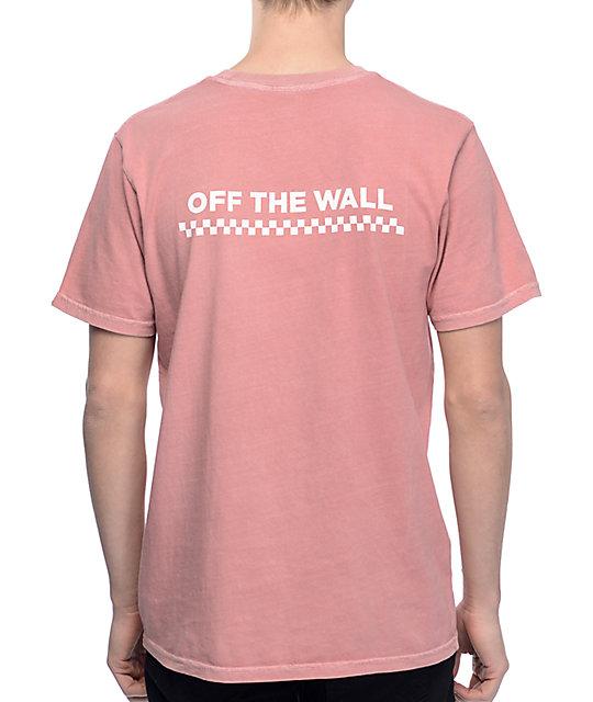 vans pink t shirt