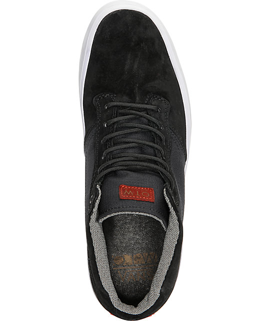 9a7f97d7526b ... Vans OTW Piercy Black Ballistic Skate Shoes ...