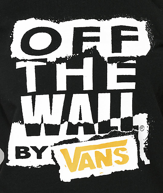 Vans OTW Ripped Black Boxy T-Shirt
