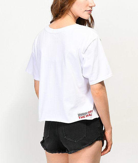 Vans OTW White Crop T-Shirt