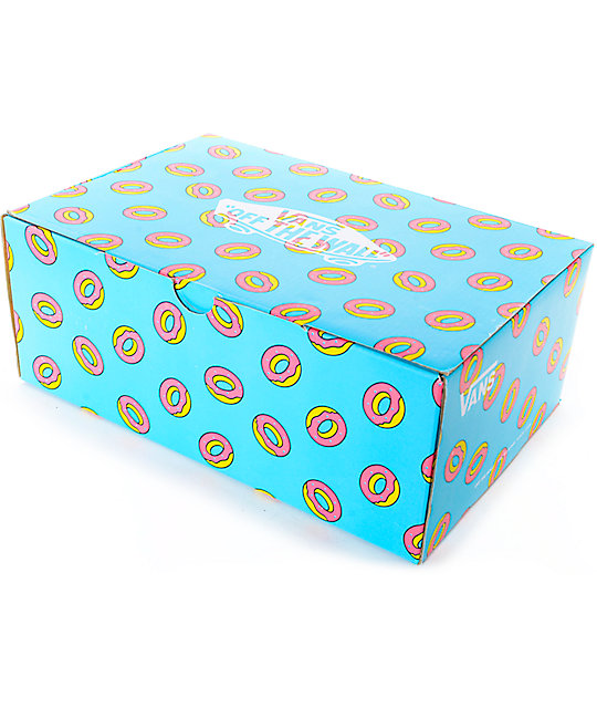 28934a36279e ... Vans Odd Future Authentic Scuba Blue Donut Shoes
