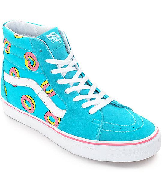 5d5163291e Vans Odd Future Sk8-Hi Scuba Blue Donut Shoe