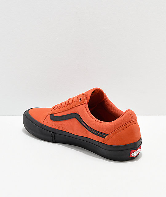 Vans Old School Pro Koi & Black Skate Shoes