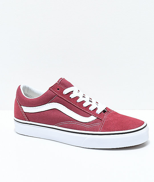 06747dd53bed97 Vans Old Skool Apple Butter   White Skate Shoes