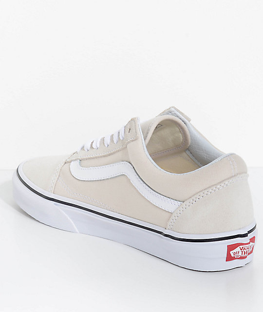 Vans Old Skool Birch True White Skate Shoes Zumiez