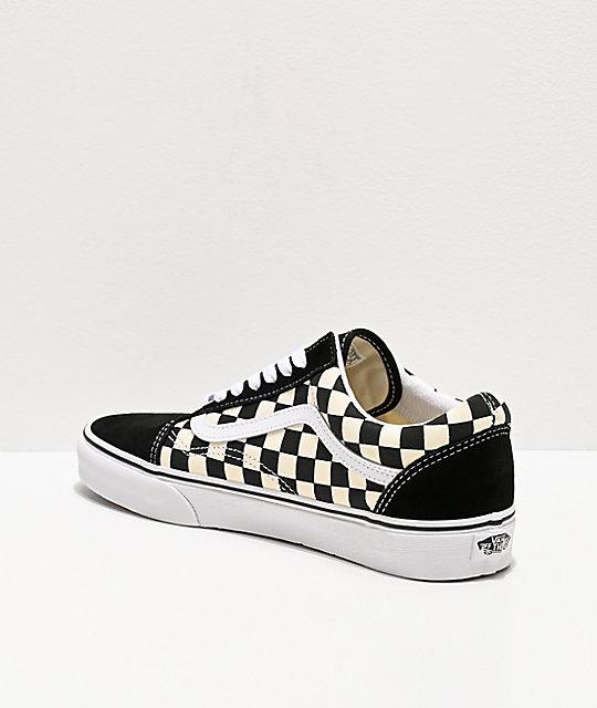 zapatillas vans checkerboard