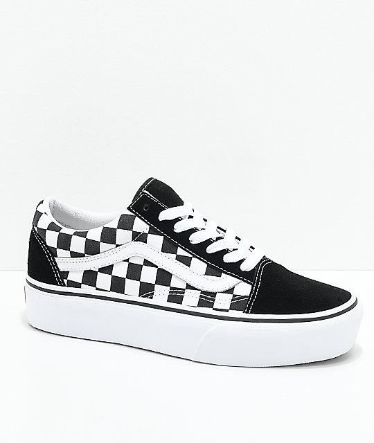 Vans Old Skool Sneakers with Leather Gr. US 5.5