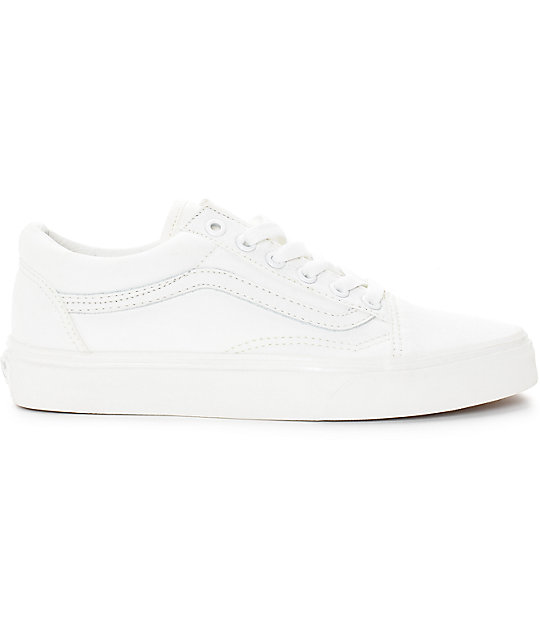 Vans Old Skool Blanc De Blanc Shoes