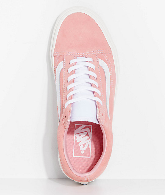 316099d5779bce ... Vans Old Skool Blossom Pink Retro Sport Skate Shoes ...