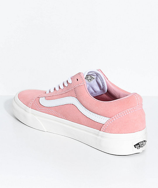 712fb1a0d91 ... Vans Old Skool Blossom Pink Retro Sport Skate Shoes ...