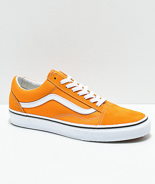 3a7f484991c59e Vans Old Skool Cheddar   White Skate Shoes