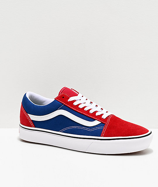 Buy \u003e red and blue vans Limit discounts