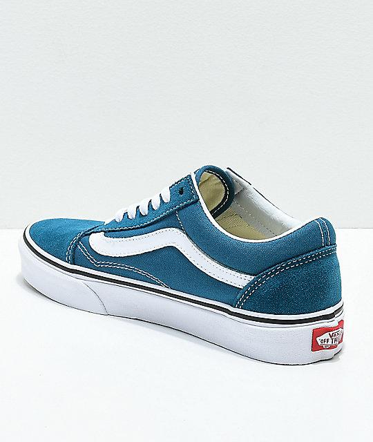 e6fcc33284 ... Vans Old Skool Corsair   True White Skate Shoes ...