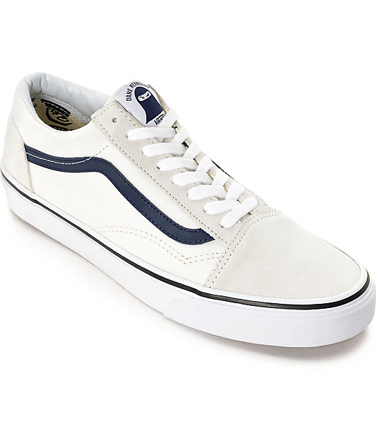 b58424e47f Vans Old Skool Dane Blanc De Blanc Skate Shoes
