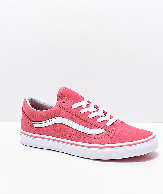 e5a4105089 Vans Old Skool Desert Rose Skate Shoes