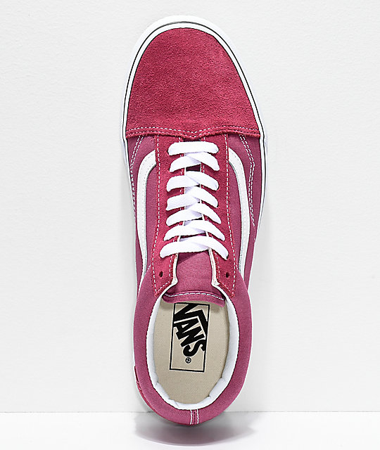 4d90ab2b03fcfa ... Vans Old Skool Dry Rose   True White Shoes ...