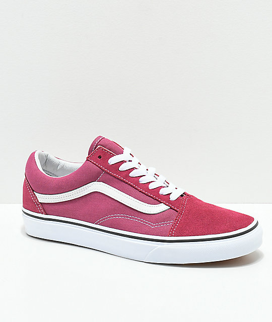 8fb547f806f Vans Old Skool Dry Rose   True White Shoes