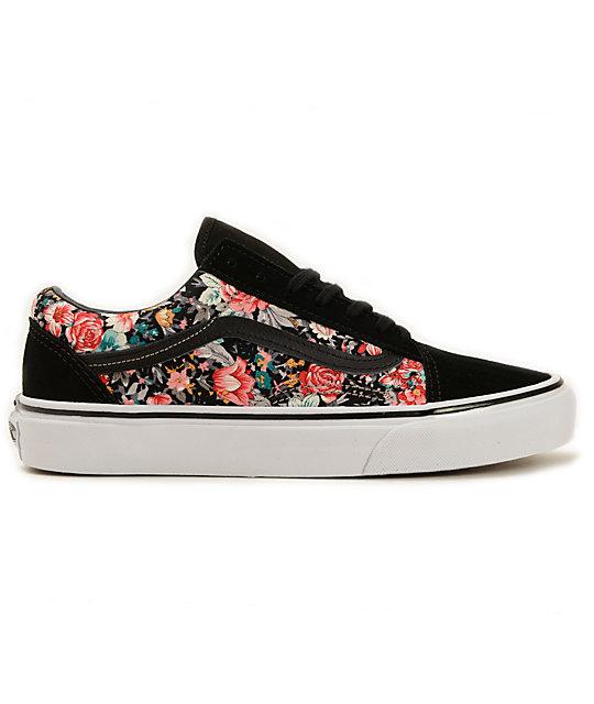 Vans Shoes Old Skool Floral Zumiez Aftxza gyY76vbf
