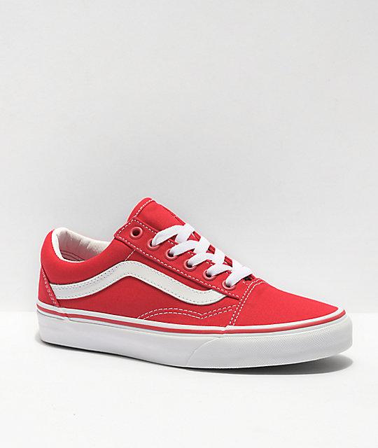 vans old skool rojas mujer - Tienda Online de Zapatos, Ropa y ...