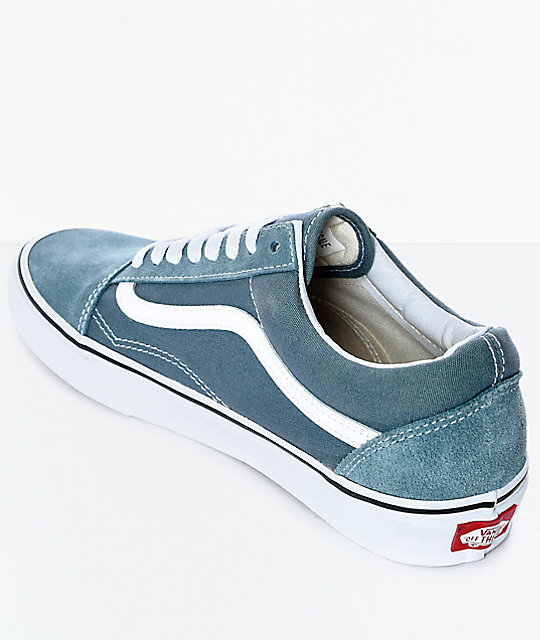 old skool vans goblin blue