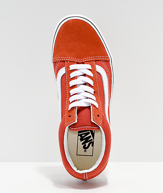 c93f276d440c ... Vans Old Skool Hot Sauce   White Shoes ...
